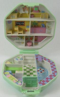 1990 Vintage Polly Pocket Polly's School by OnlyPollyPocket
