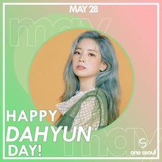 Twice-Dahyun 190528 Happy birthday K Pop, South Korean Girls, Korean Girl Groups, Twice Birthdays, Sana Minatozaki, Twice Once, Twice Dahyun, Im Nayeon, Extended Play