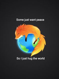 Just hug the world
