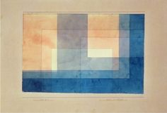 """House on the Water,"" 1930, Paul Klee."