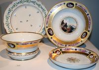 Past Exhibitions   Dinner with the Tsars: Russian Imperial Porcelain : Porcelain of Paul I