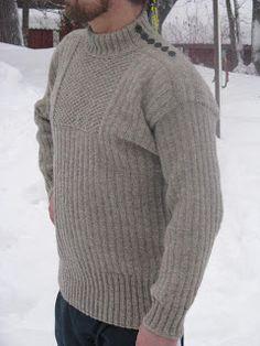 kunhan se on punaista: Hailuotolainen valmis Men Sweater, Turtle Neck, Knitting, Sweaters, Pattern, Clothes, Fashion, Outfits, Moda
