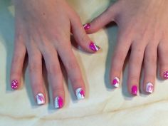 Fun pink & whites by Becki @ Trendsetters