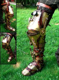 Steampunk knight gear