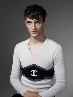 Chanel for men, signature sweater