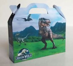 jurassic world dinosaurios x40 valijitas+40 conos