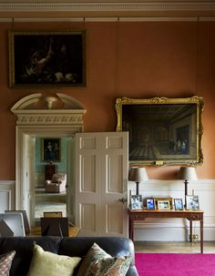 The Smoking Room of Highclere, the Real Downton Abbey