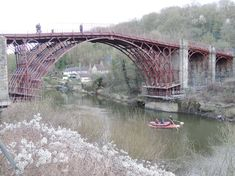 refurbishment of the world famous UNESCO world heritage site in Ironbridge in Shropshire. The Iron Bridge, River Severn, Boat Hire, Water Safety, Sustainable Tourism, Canoe And Kayak, Beautiful Sites, Refurbishment, Paddle Boarding