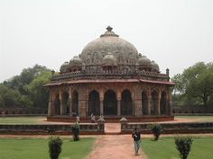 Humayun's Tomb, Delhi - This tomb, built in 1570, is of particular cultural significance as it was the first garden-tomb on the Indian subcontinent. It inspired several major architectural innovations, culminating in the construction of the Taj Mahal.
