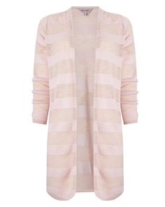 7d8c65a51180da Buy Dusty Pink Phase Eight Chloe Self Stripe Cardigan from our Women s  Knitwear range at John Lewis   Partners.