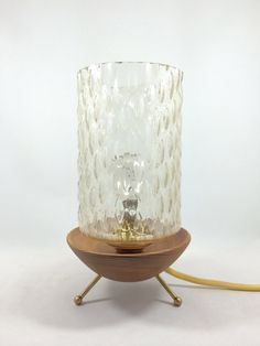 Restored Midcentury modern design lamp by Lambater on Etsy, €140.00