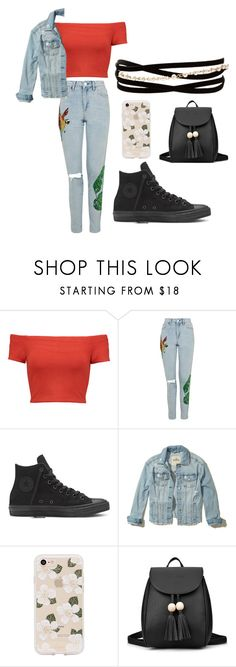 """""""my style"""" by hodandahir ❤ liked on Polyvore featuring Alice + Olivia, Topshop, Hollister Co., Sonix and Kenneth Jay Lane"""