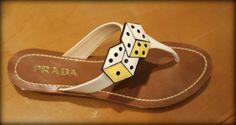 Prada - shoes with dice