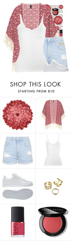 """""""Untitled #1095"""" by fatimaflores123 ❤ liked on Polyvore featuring Neiman Marcus, Manon Baptiste, Topshop, Calvin Klein Underwear, adidas, NARS Cosmetics and Bobbi Brown Cosmetics"""