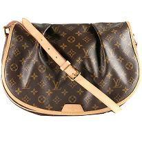 Louis Vuitton Monogram Canvas Menilmontant MM Crossbody Shoulder Handbag