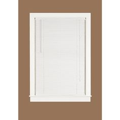 Cordless 1 Quot Vinyl Mini Blind Available In White And