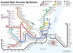 Istanbul Rapid Transit Map (schematic) - File:SchienenverkehrIstanbul2006InBetrieb.svg - Wikimedia Commons