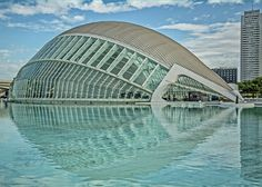 https://flic.kr/p/scPSis | City of Arts and Sciences_Opera House | Designed and engineered by Santiago Calatrava, the Opera House (Palau de les Arts Reina Sofia), part of the complex of the City of Arts and Sciences, Valencia, Spain is designed to resemble an eye by looking at the building and its reflection.  The building, which is covered with mosaic tiles is shedding those tiles after just 8 years after construction.  The city of Valencia is suing Calatrava for the cost of repairing the…