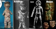 Steinzeit Astronauten funde auf der ganzen Welt