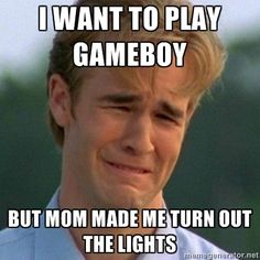 Image result for kids playing game boy meme