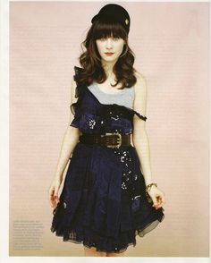 hey there zooey and that dress