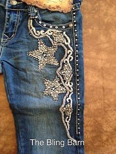 Montana West Trinity Ranch Jeans Rhinestone Bling Western TR013 pick size Stars | Clothing, Shoes & Accessories, Women's Clothing, Jeans | eBay!