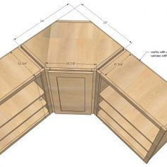 Sizes Of Corner Kitchen Cabinets