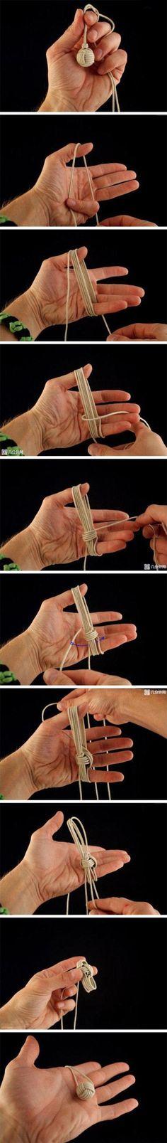 Comment fabriquer une balle-bouton en laine? Par ici …. – L'Humanosphère