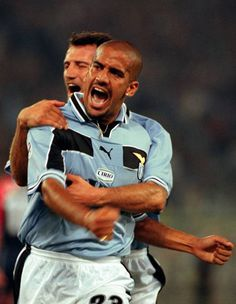 The glory days Soccer Stars, Football Soccer, Football Players, Play Maker, Ss Lazio, Manchester United Players, Soccer World, Best Player, Dream Team