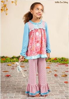 293eec60e97b NWT Girls Matilda Jane Once Upon A Time Sleeping Beauty Pajama Set Ruffle  Size 6