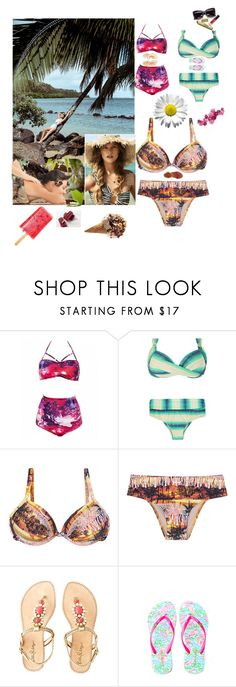 """""""Bez naslova #40"""" by fatima-bojic ❤ liked on Polyvore featuring Lilly Pulitzer and Bamboo"""