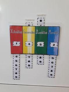 Παιχνίδι τετραψήφιων αριθμών! Math 2, 1st Grade Math, Math Teacher, Math Classroom, Teaching Math, School Staff, Back To School, Math Word Walls, Math Stations