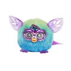 Trendy Green Blue Furby Furbling Crystal Creature Plush Interactive Toy, 6+ Yrs - Furby