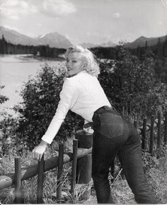 "marilyn-monroe-collection:  "" Marilyn Monroe in Canada, 1953.  """