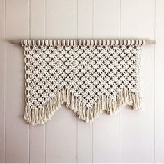 Macrame Wall Hanging 5 by AFibre on Etsy