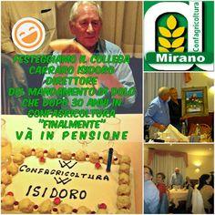 Confagricoltura Mirano: Festeggiamo il pensionamento del collega Carraro I...