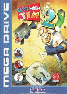 Earthworm Jim 2 for the Sega Genesis.