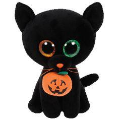 Ty Beanie Boos Shadow Black Cat Small
