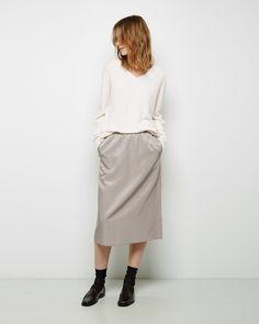 LA GARçONNE MODERNE | Didion Slip Skirt | La Garçonne