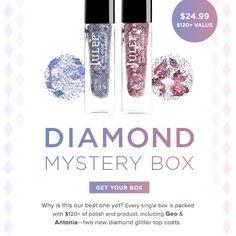 Julep Diamond Mystery Box ~ Highest Value Ever!
