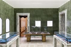 Peter Marino Works His Magic on Bulgari's Rome Flagship. Plaster and Stone coverings available through CoorItalia. Please inquire for more info.