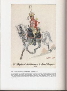 Chasseurs à Cheval Regiment: Plate 31