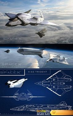 Find your Grapfix Desire With US Space Ship Concept Art, Concept Ships, Spaceship Art, Spaceship Design, Fighter Aircraft, Fighter Jets, Flying Vehicles, Starship Concept, Sci Fi Spaceships