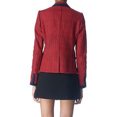 JUICY COUTURE Printed blazer (Red ginger