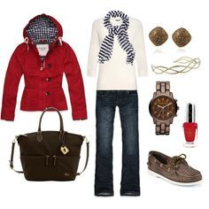 women's outfits for boating in fall - Google Search