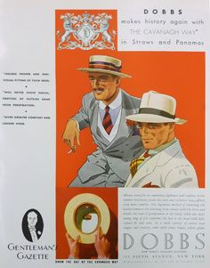 1930s Fashion Ads — Gentleman's Gazette