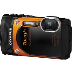 Olympus Stylus Tough TG-860 Digital Camera (Orange)- NEW
