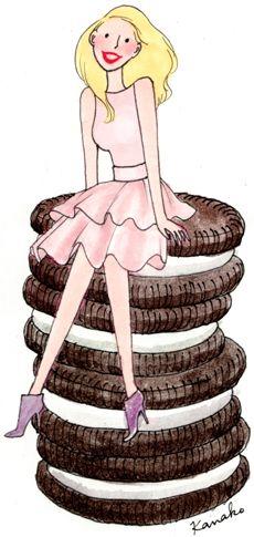 Kanako, illustratrice, agence Marie Bastille @Kanako // cette image appartient à son auteur et/ou l'agence Marie Bastille + d'infos sur le site //