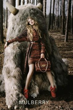 Lindsey Wixson's Fall/Winter 2012 Campaign for MULBERRY is too fantastical for words!!