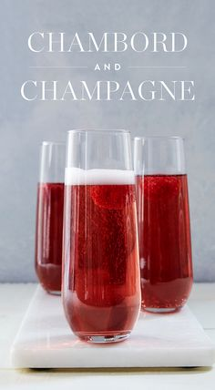 We don't know a drink that's simpler than this three-ingredient @ChambordUS and Champagne cocktail. Top it off with a fresh raspberry and get back to the party. — via @PureWow